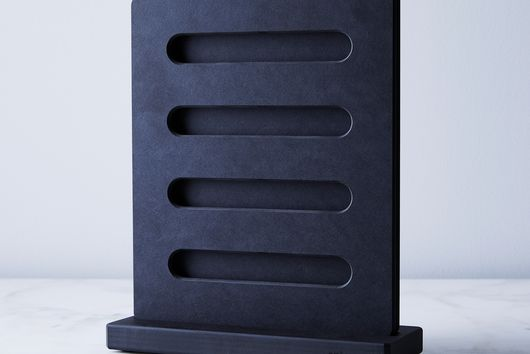 Matte Black Knife Block