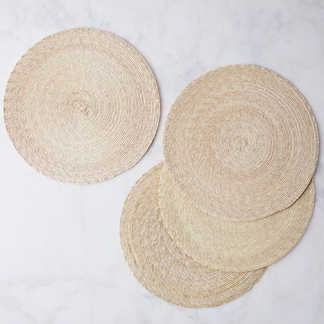 Handwoven Palm Placemats