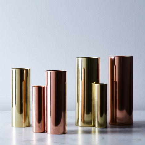 PRESALE Copper and Brass Louise Vases
