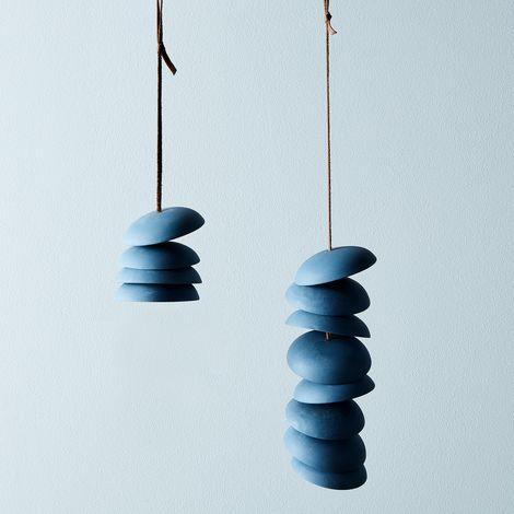 Blue Porcelain Wind Chimes