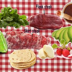 Border-Style Flank Steak Grilled Burritos W/Cilantro Chimichurri Sauce