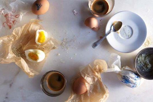 Buvette's Boiled Eggs with Seasoned Salt