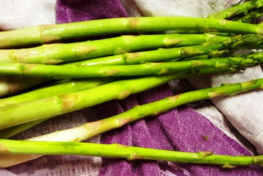 Asparagus With Caper Vinaigrette