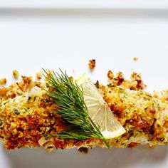 Walnut Crusted Halibut