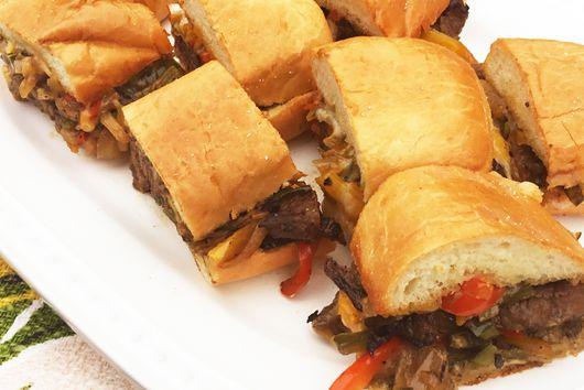 Wagyu Cheesesteak Sandwiches