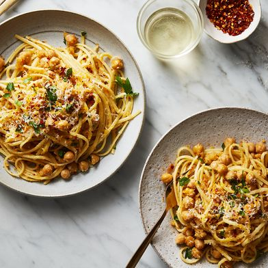 Linguine with Chickpeas