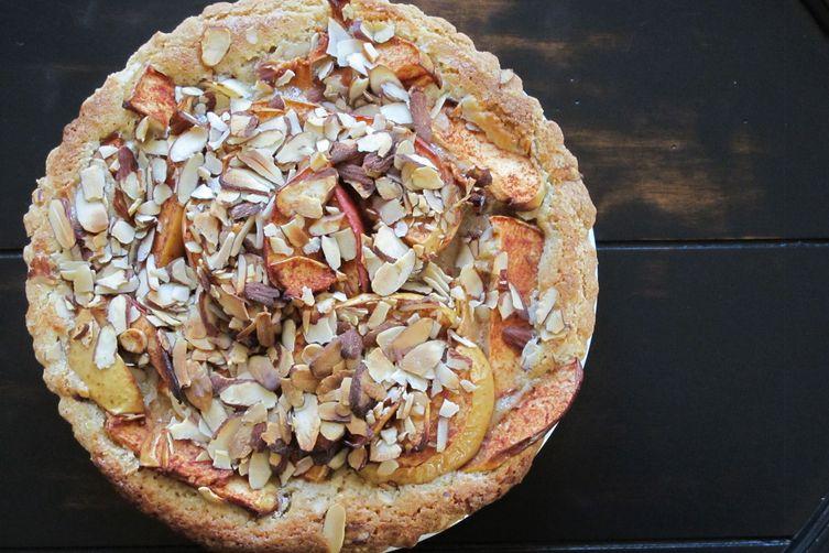Apple Tart with Almond Paste