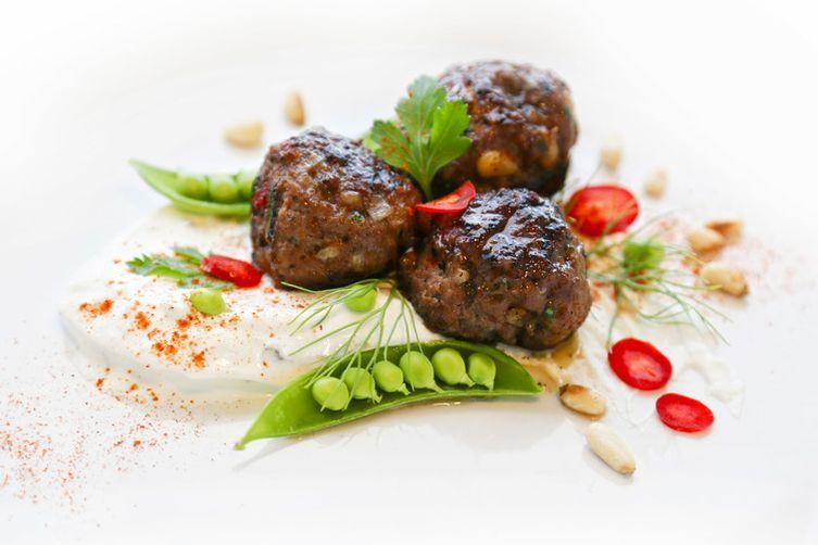 Psuedo Lamb Meatballs