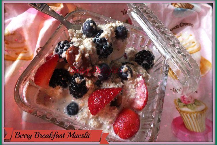Berry Breakfast Muslii