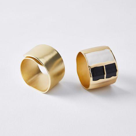 Brass Napkin Rings (Set of 4)