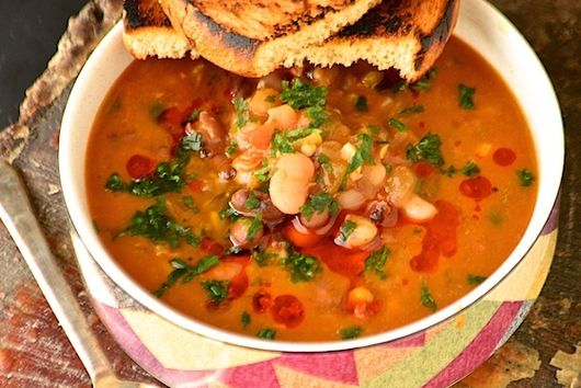 """Spicy"" Bean-Mix Soup"