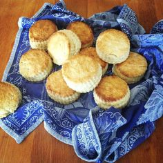 Lard and Bacon Fat Biscuits