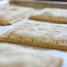 Toastries with homemade Apple-Pear filling