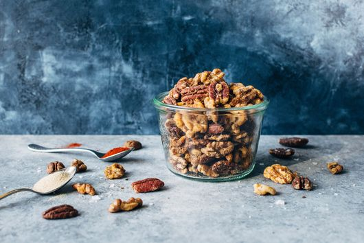 Tasty Spiced Snacking Nuts