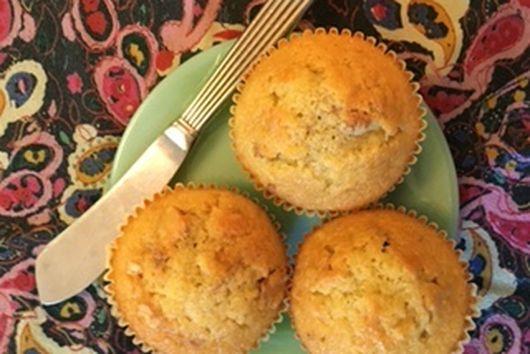 Olive Oil Marsala Muffins