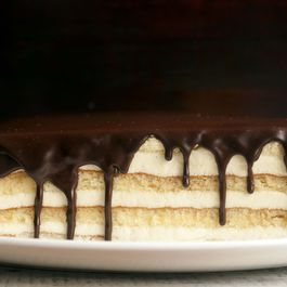Boston cream pie by Linda Hackett
