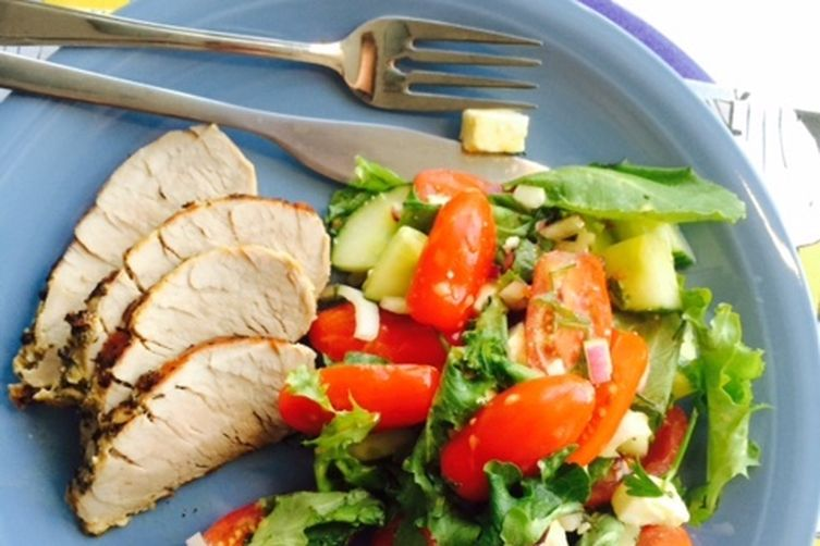 Feta Pork Tenderloin