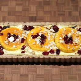 Ricotta Tart with Maple Glazed Winter Squash and Chèvre