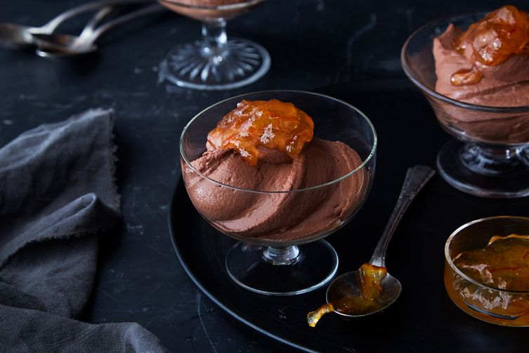 Maria Speck's Greek Yogurt Chocolate Mousse