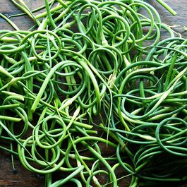 What to Do with an Overload of Garlic Scapes