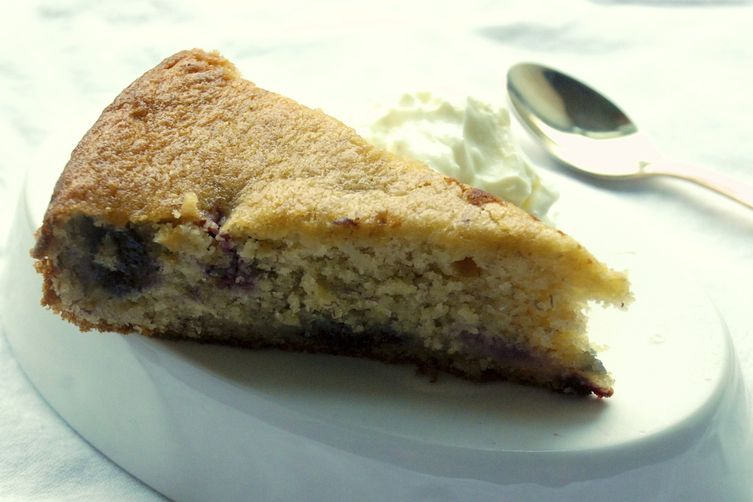 Banana Blueberry Tea-Time Cake