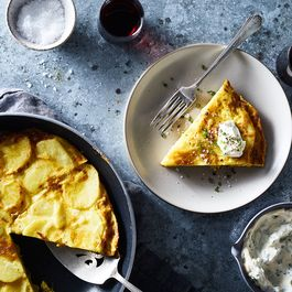 A Simpler (No Flip!) Spanish Tortilla With an Even Simpler Aioli