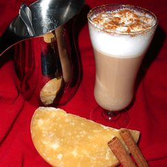 Butterscotch Toddy with Baileys Foam