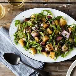 Potato Salad With Arugula & Dijon Vinaigrette