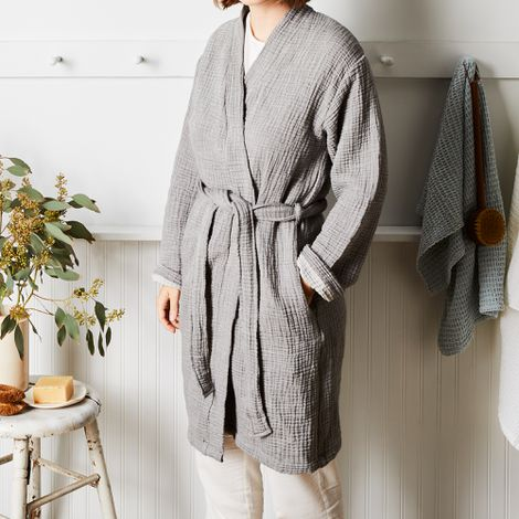 Super Soft Double Gauze Bathrobe
