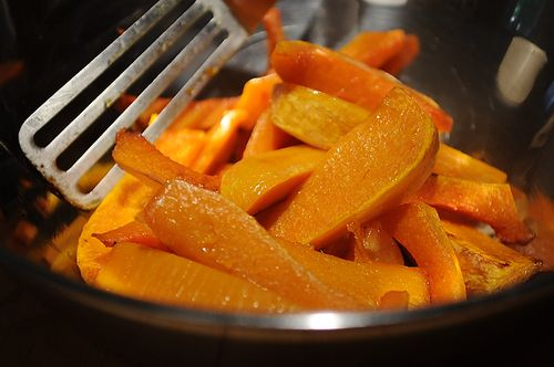 Caramelized Butternut Squash Wedges with a Sage Hazelnut ...