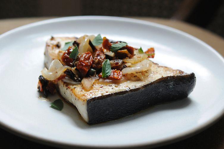 Sicilian-Style Swordfish Recipe on Food52