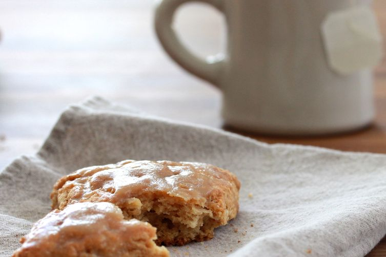 Whole Wheat Maple Scones