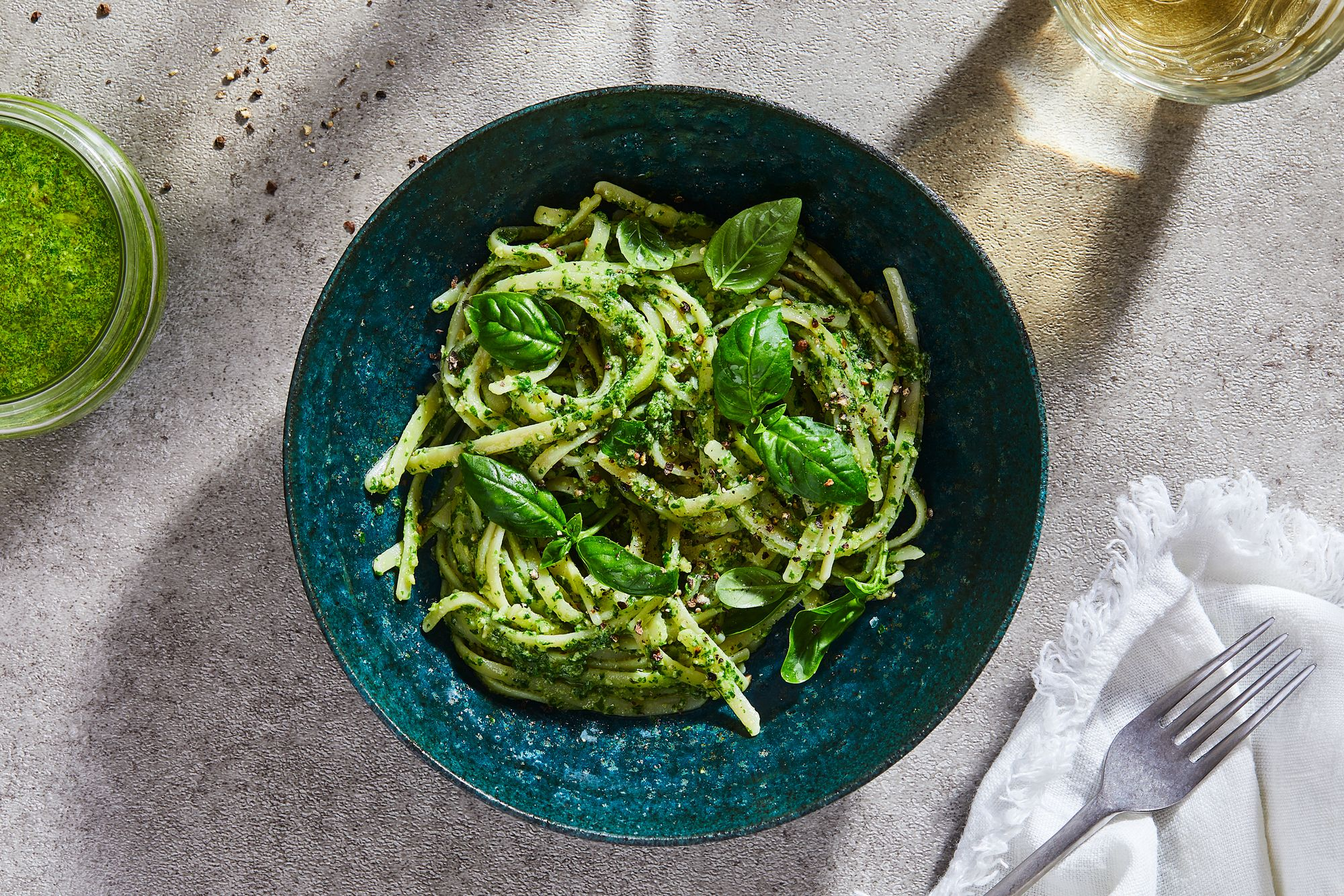 Our Best Basil Pesto