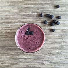 Blueberry & Ginger Smoothie