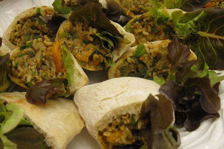 Southwestern Rice Salad Sandwich Filling