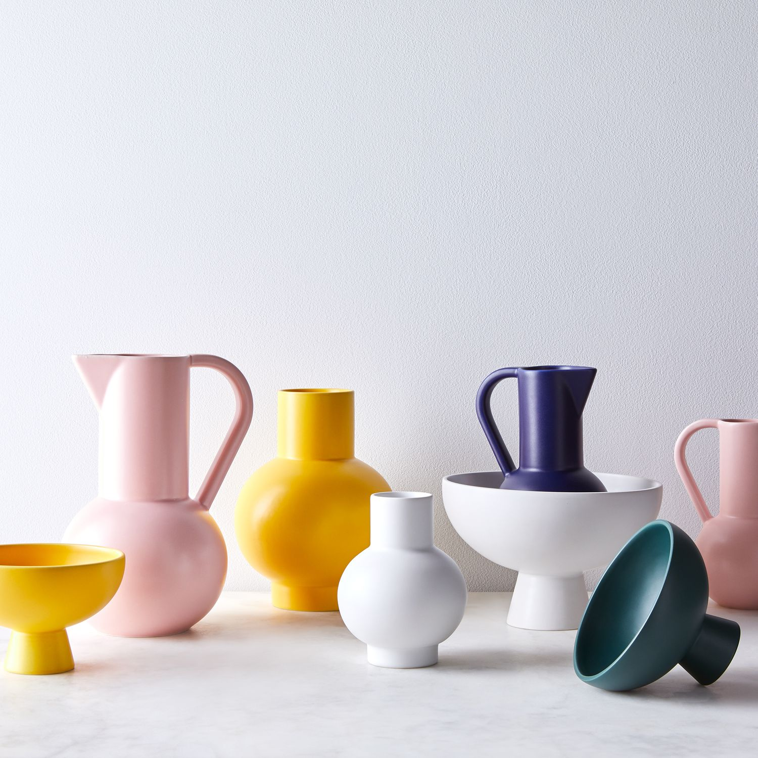 MoMA Raawii Strøm Danish Vases, Bowls & Jugs in 6 Colors on Food52