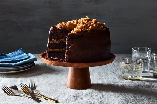 Extra Chocolatey German Chocolate Cake