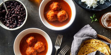 Meatballs lend comfort on one family's journey from Mexico.