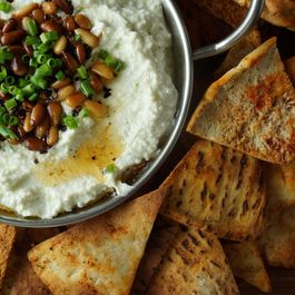 Whipped Feta Dip with Spiced Pita Chips