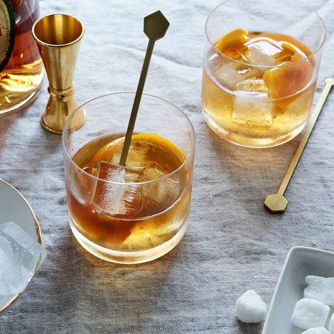 Geometric Metal Drink Stirrers (Set of 3)
