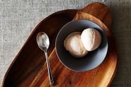 Sour Cherry Almond Frozen Yogurt
