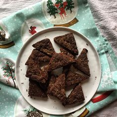 Dark Chocolate-Ginger Shortbread