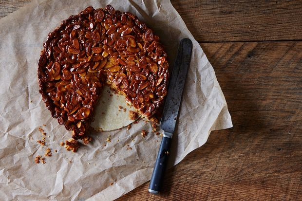 Tangerine and Almond Shortbread Tart Recipe on Food52