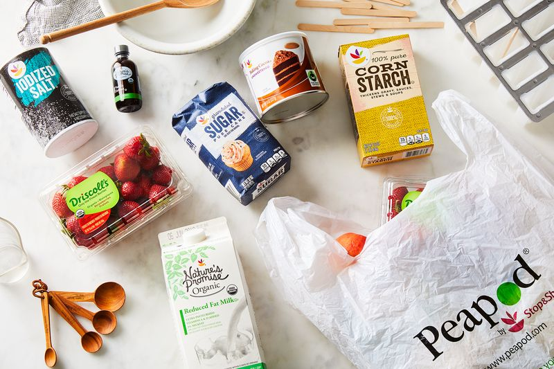 Forget lugging groceries by hand—Peapod can ship everything you need right to your home.