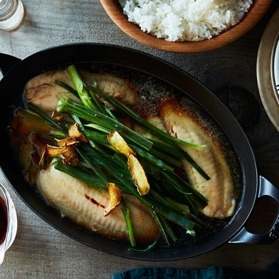 Grace's Ginger Scallion Fish
