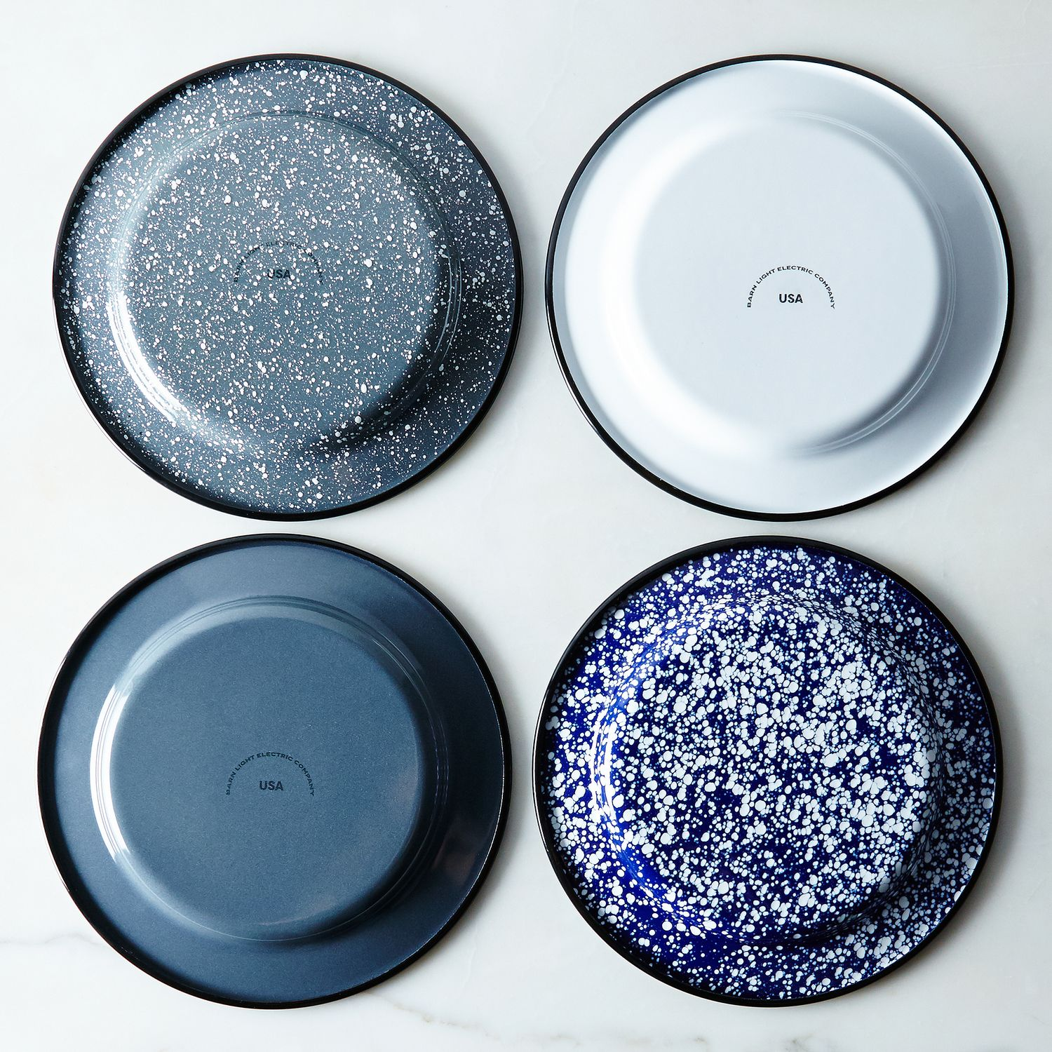 Porcelain Enamelware Plates Sets Of 4 On Food52