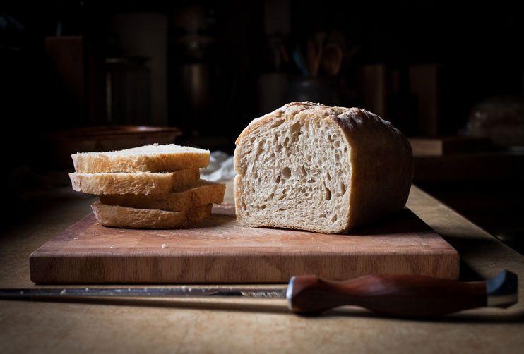 No-Knead Sandwich Bread from Food52