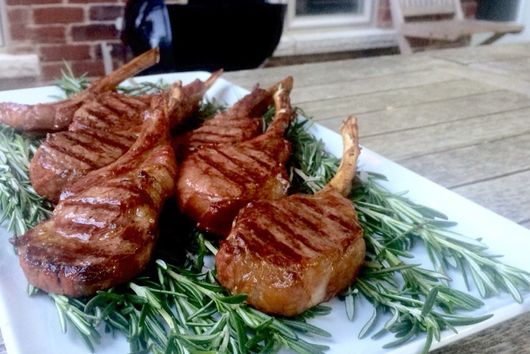 Rosemary Smoked Lamb Chops
