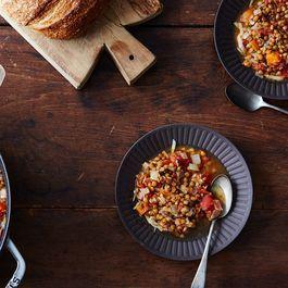 A Very Sensible (Genius) Lentil Soup, Until the Sherry