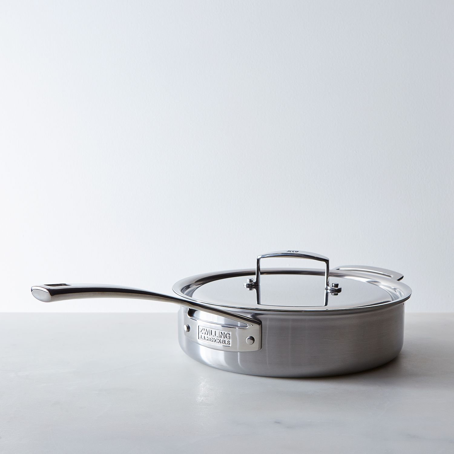 Zwilling Aurora 5 Ply Stainless Steel Saut 233 Pan With Lid